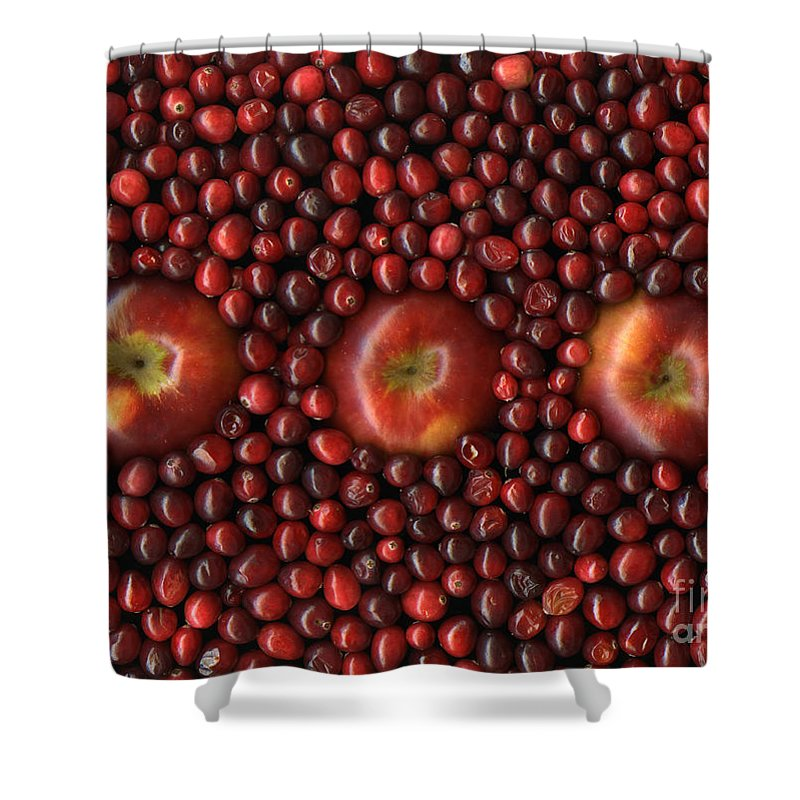 Slanec Shower Curtain featuring the photograph Cranapple by Christian Slanec