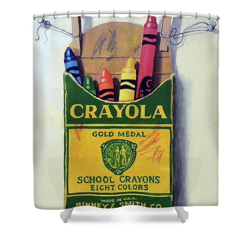 Crayola Shower Curtains | Fine Art America
