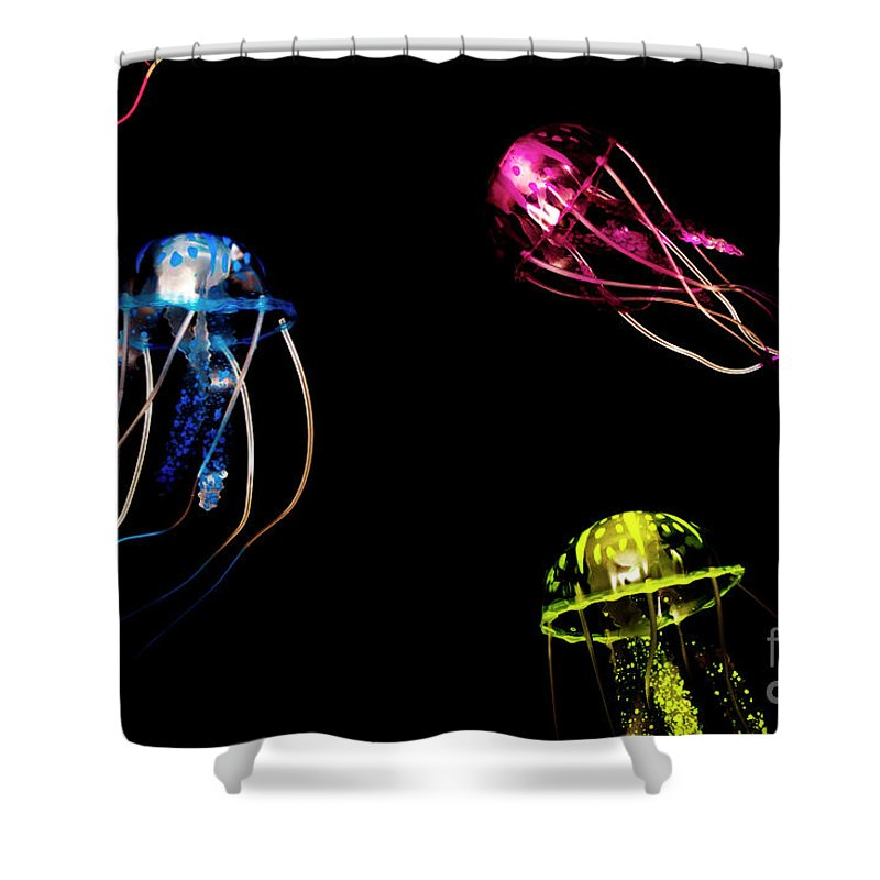 Life Shower Curtain featuring the photograph Creatures Of The Deep by Jorgo Photography - Wall Art Gallery
