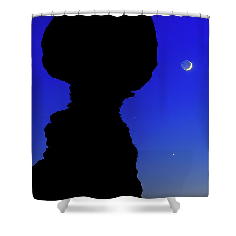 Nature Shower Curtain featuring the photograph Crescent by Chad Dutson