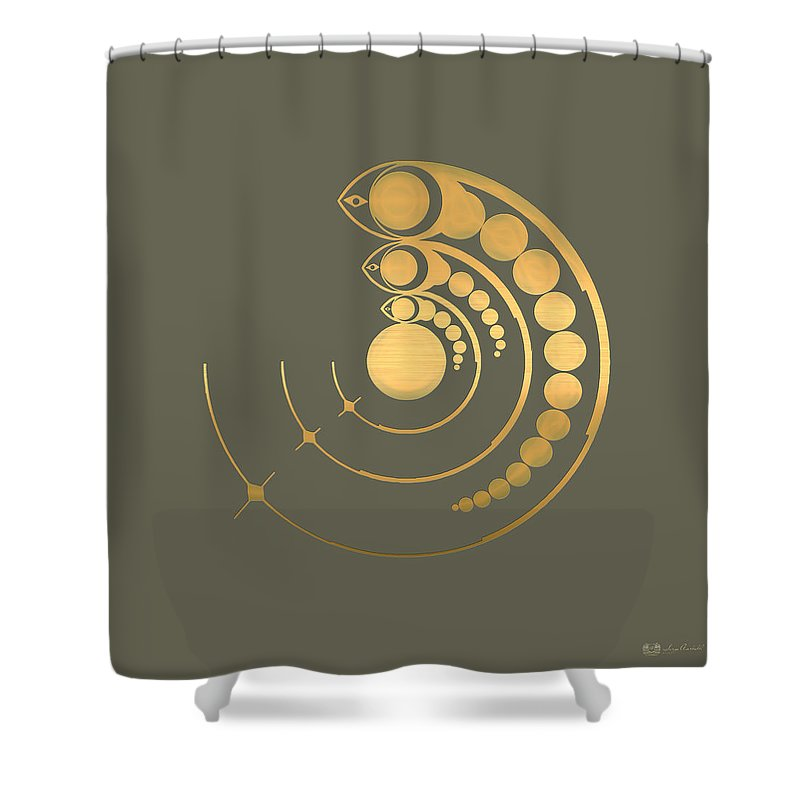 The Signs Collection By Serge Averbukh Shower Curtain featuring the photograph Crop Circle Formation Near Avebury by Serge Averbukh