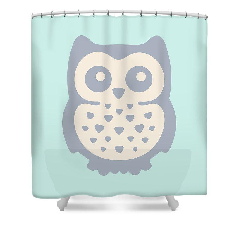 Pastel Colour Digital Art Shower Curtains