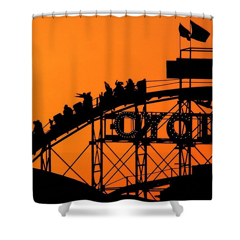 Cyclone Shower Curtain featuring the photograph Cyclone by Mitch Cat