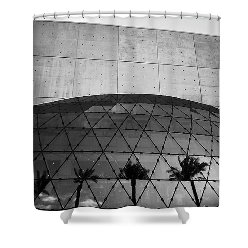 Fine Art Photography Shower Curtain featuring the photograph Dali Museum Work Number 9 by David Lee Thompson