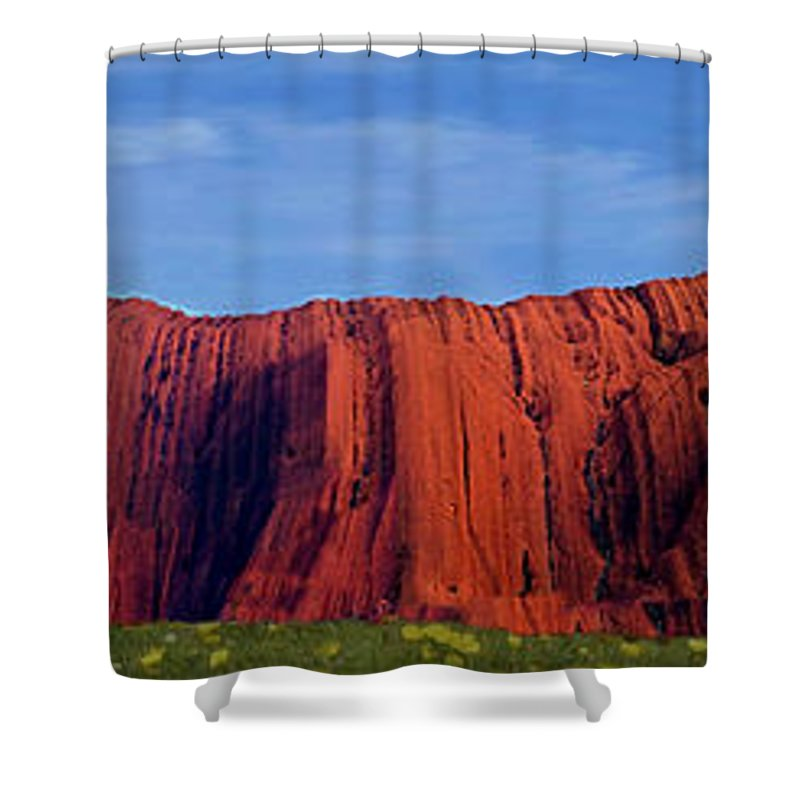 Darwin Shower Curtain featuring the photograph Darwin 1 by Ben Yassa