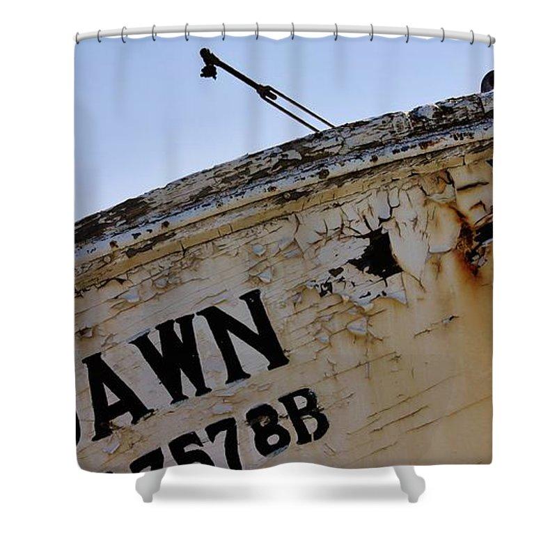Homer Alaska Shower Curtain featuring the photograph Dawn At Dawn by Lori Mahaffey
