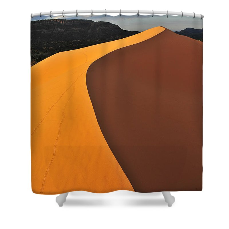 Dawn Of Inspiration Shower Curtain featuring the photograph Dawn Of Inspiration by Skip Hunt