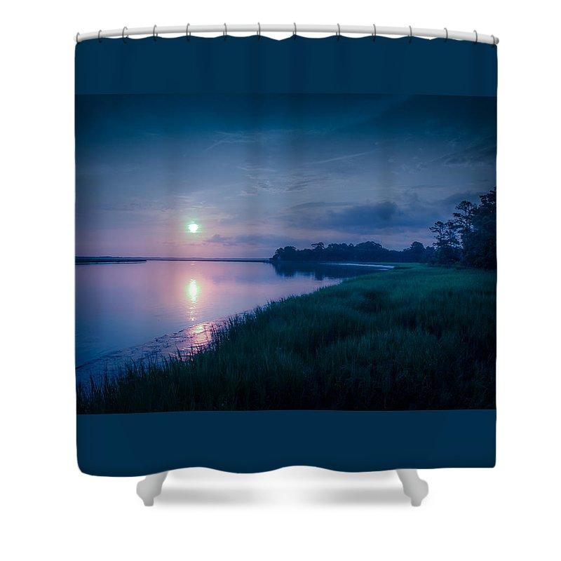 Edisto Island Shower Curtain featuring the photograph Dawn by Susan Harris