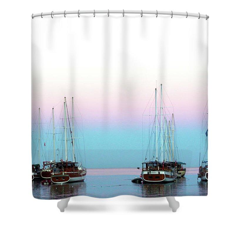 Inna Nedzelskaia Shower Curtain featuring the photograph Dawning by Inna Nedzelskaia