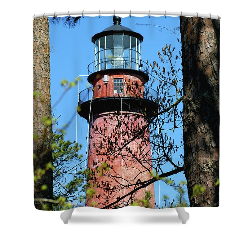 Landscapes Shower Curtain featuring the photograph Day Light by Judy Carr
