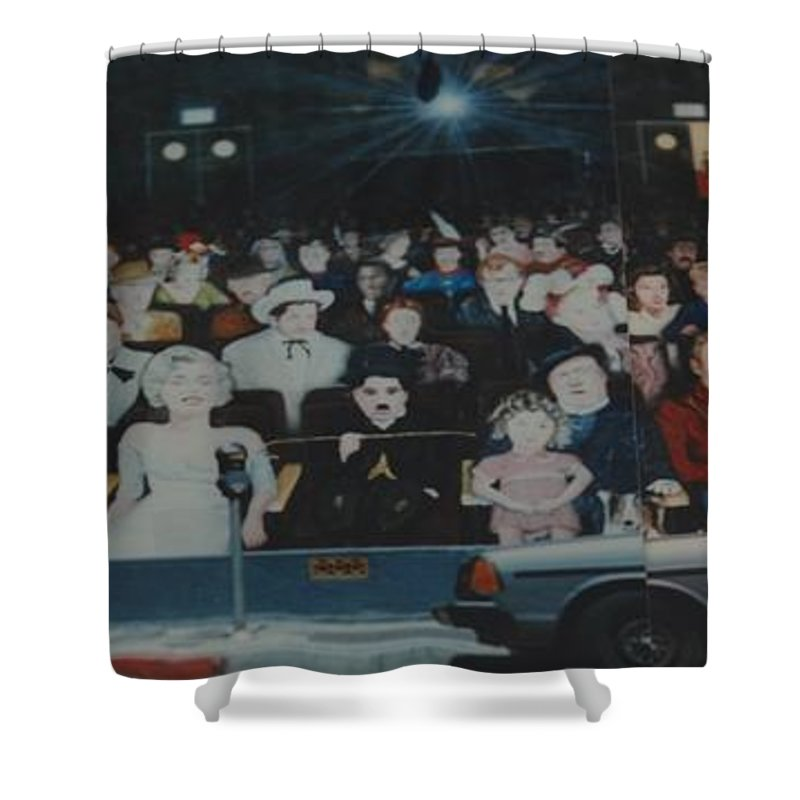 Movie Stars Shower Curtain featuring the photograph Dead Stars by Rob Hans