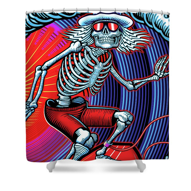 Terrapin Station Shower Curtains