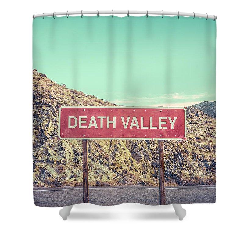 Death Valley Shower Curtains
