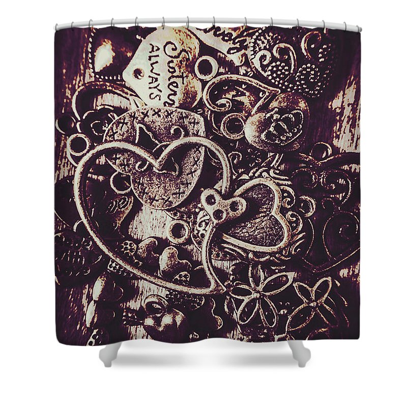 Heart Shower Curtain featuring the photograph Decorating A Love Nest by Jorgo Photography - Wall Art Gallery