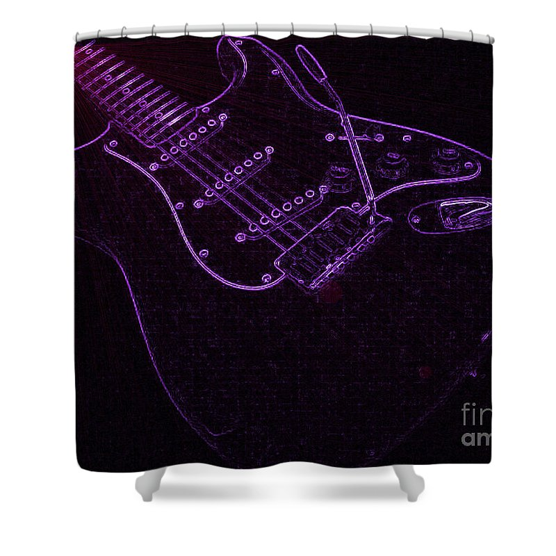 Purple Shower Curtain featuring the photograph Deep Purple by Roxy Riou