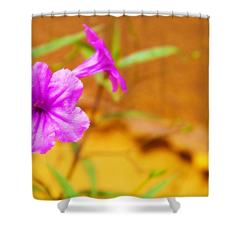 Nature Shower Curtain featuring the photograph Delectable by Oghenefego Ofili