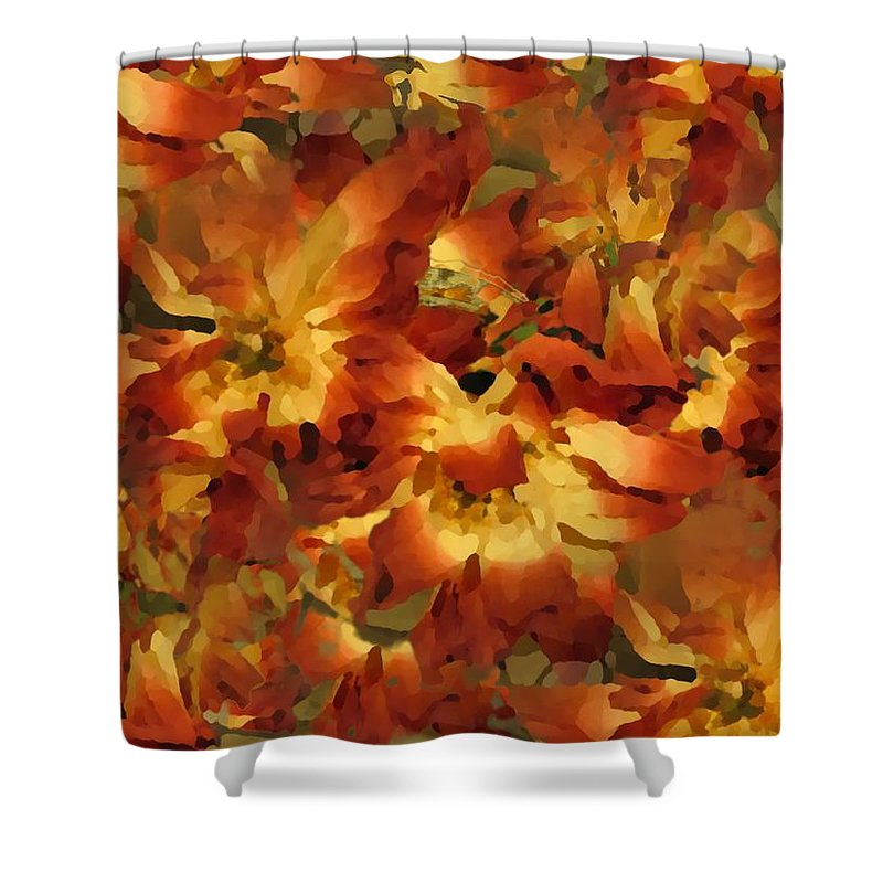 Flowers Shower Curtain featuring the photograph Delightful by Tim Allen