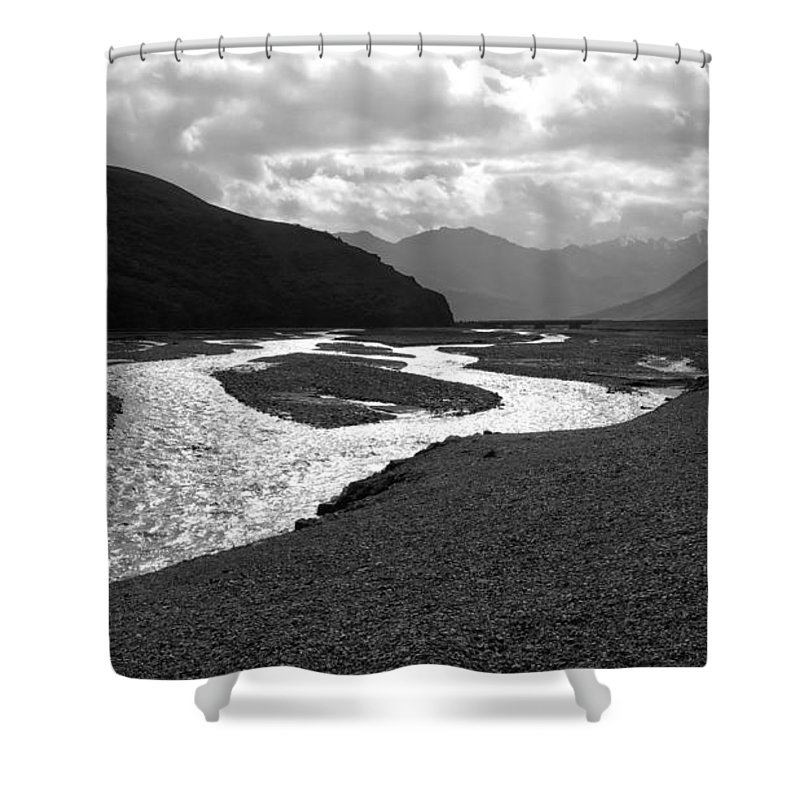 Alaska Shower Curtain featuring the photograph Denali National Park 5 by Dick Goodman