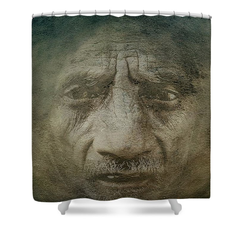 Despair Shower Curtain featuring the photograph Despair by Movie Poster Prints