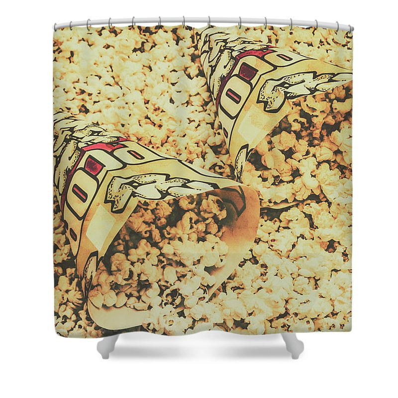 Drive-in Movie Theater Shower Curtains | Fine Art America
