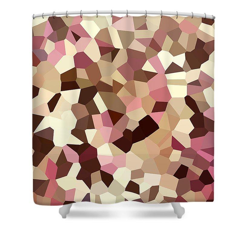 Digital Artwork Shower Curtain featuring the digital art Digital Artwork 326 by Maureen Lyttle