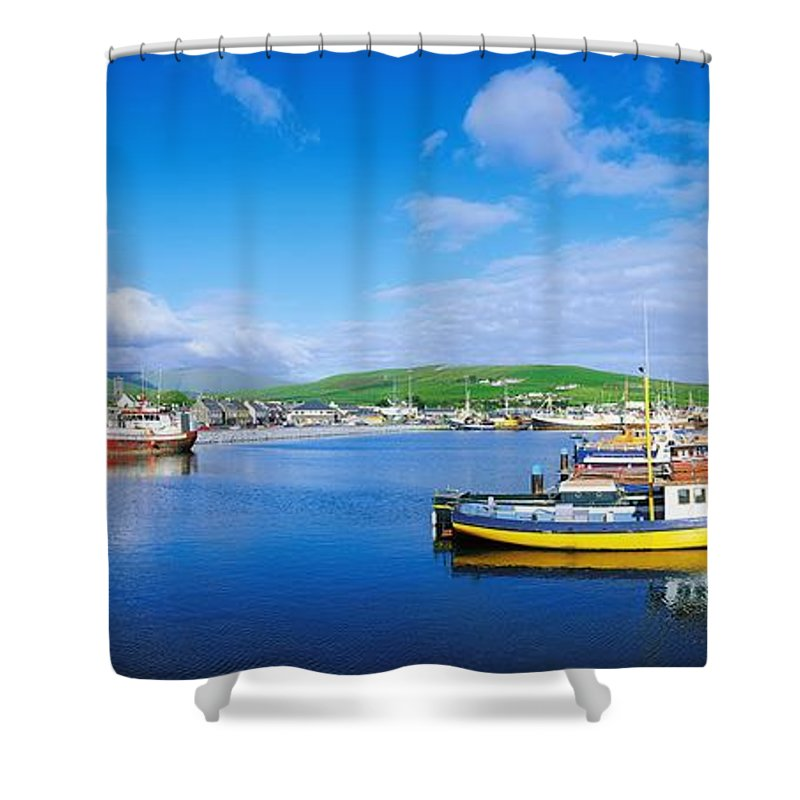 Boat Shower Curtain featuring the photograph Dingle, Dingle Peninsula, Co Kerry by The Irish Image Collection