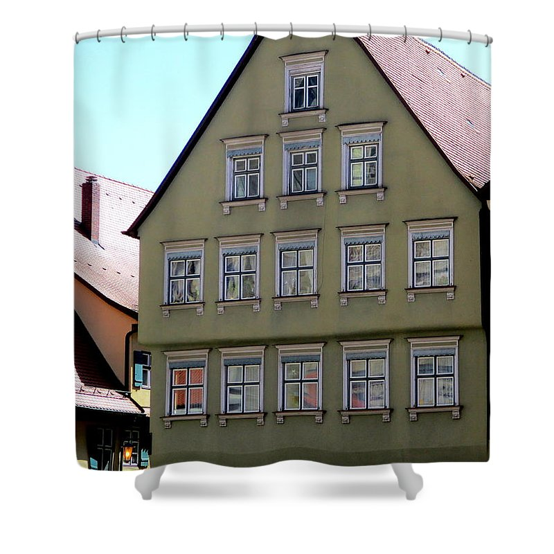 Dinkelsbuhl Shower Curtain featuring the photograph Dinkelsbuhl 5 by Randall Weidner