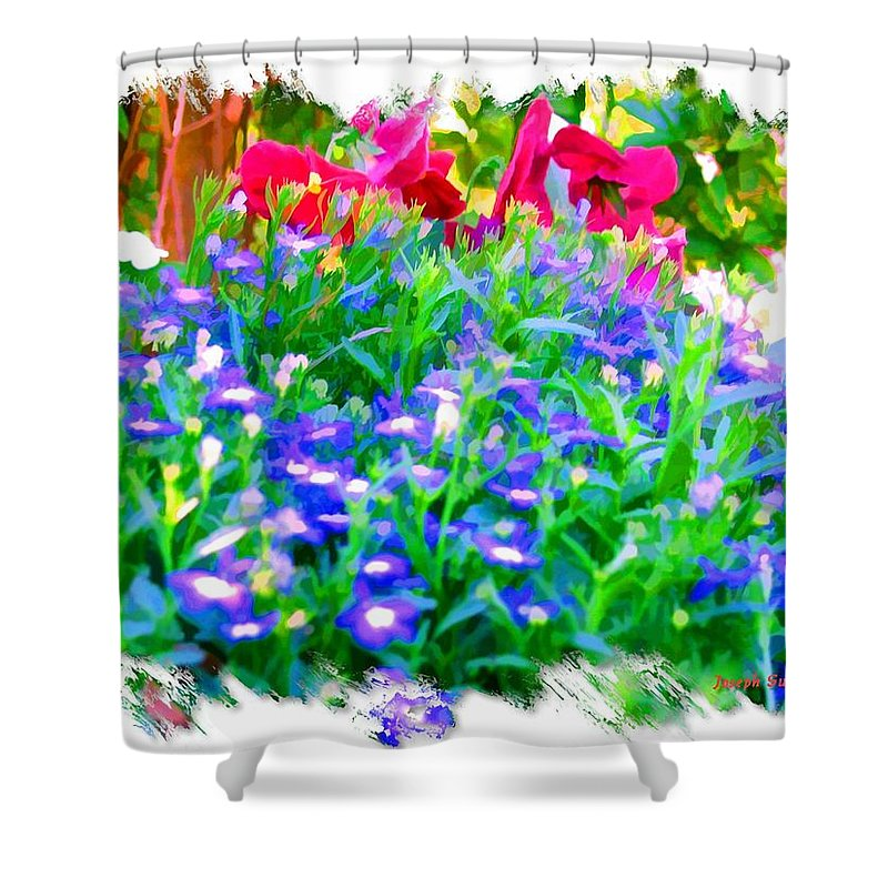 Flowers Shower Curtain featuring the photograph Do-00221 Flowers by Digital Oil