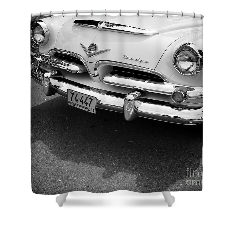 Dodge Shower Curtain featuring the photograph Dodge by Chris Dutton