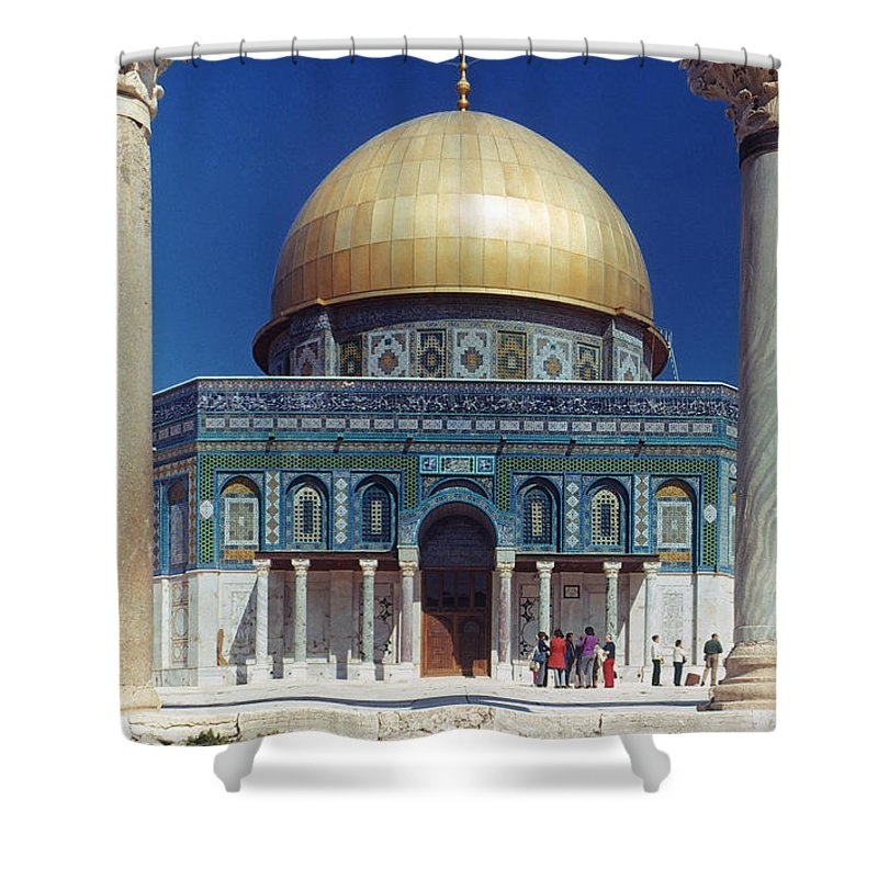 Building Shower Curtain featuring the photograph Dome Of The Rock by Granger