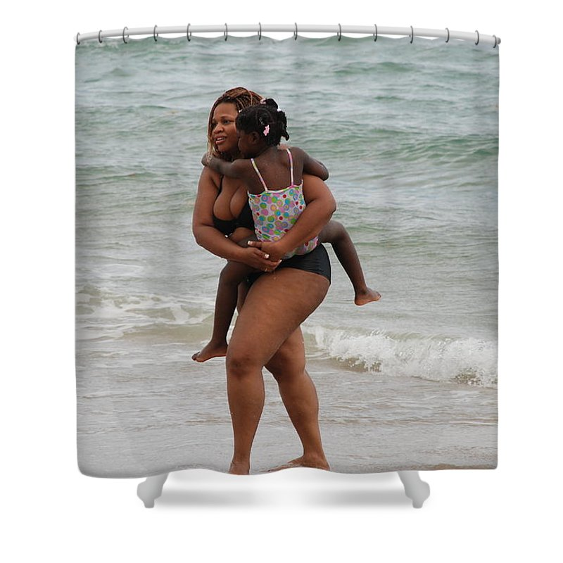 Sea Scape Shower Curtain featuring the photograph Done For The Day by Rob Hans