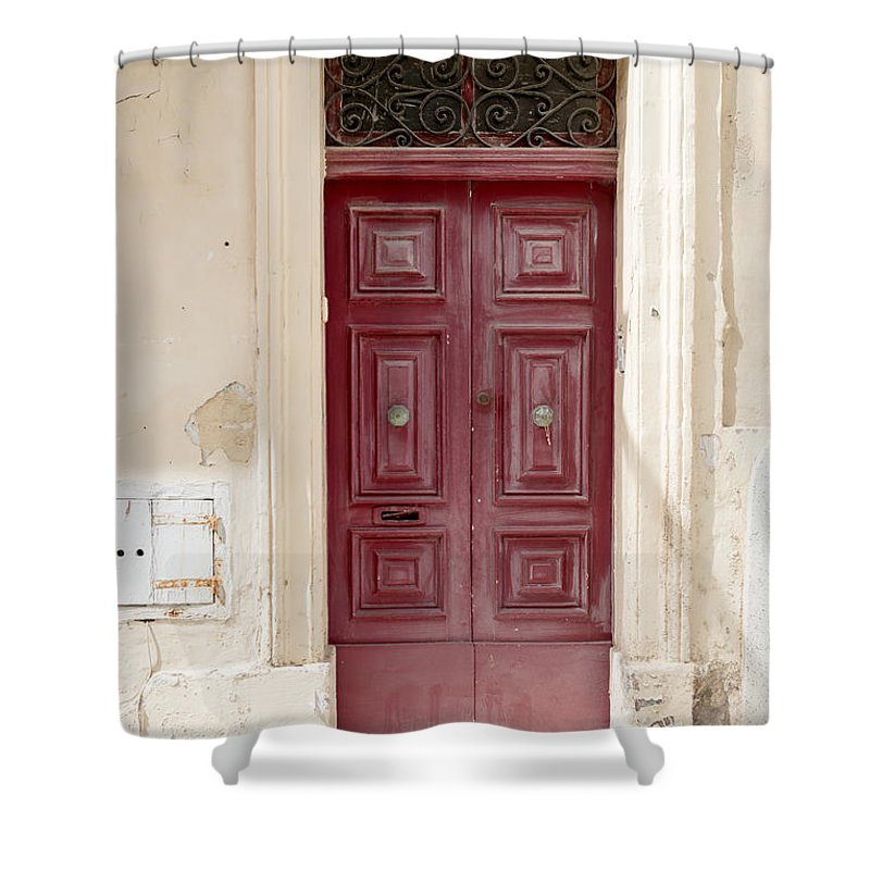Ancient Shower Curtain featuring the photograph Doors Of The World 73 by Sotiris Filippou