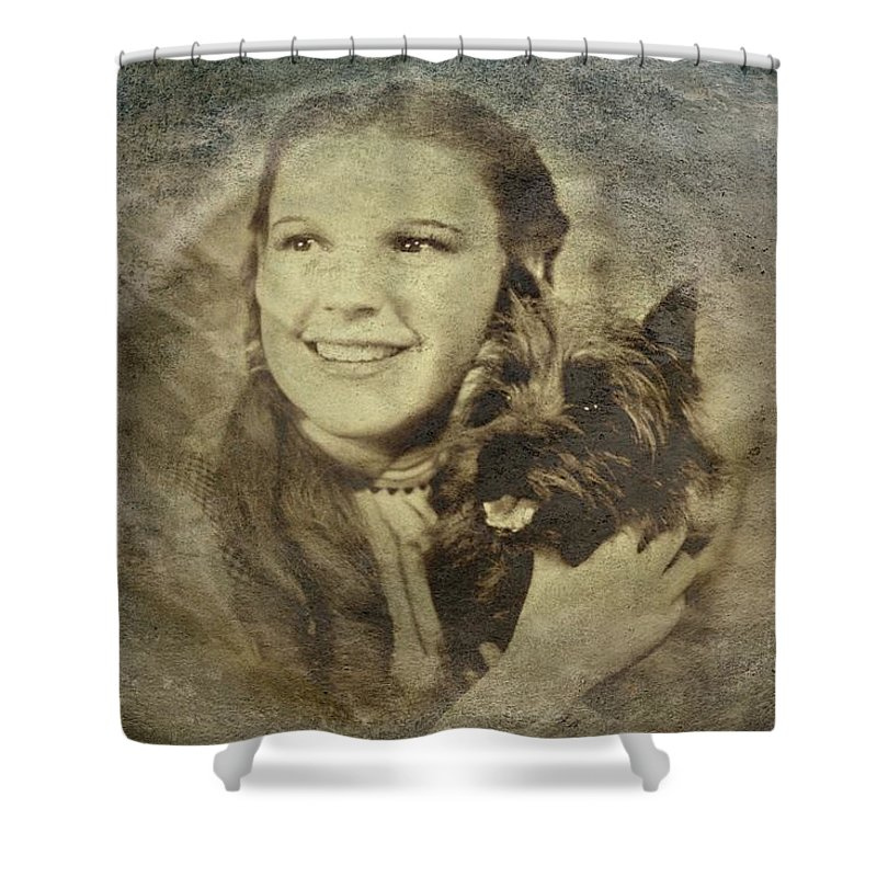 Dorothy Shower Curtain featuring the digital art Dorothy by Movie Poster Prints
