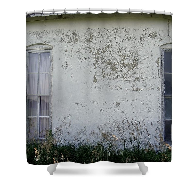 Double Vision Shower Curtain featuring the photograph Double Vision by Edward Smith