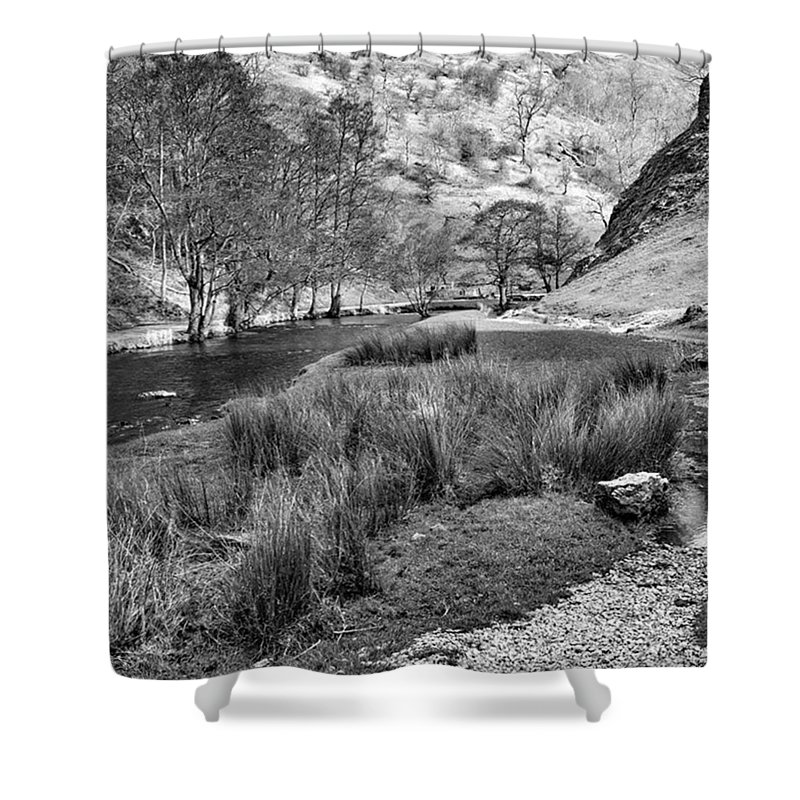 Dale Shower Curtain featuring the photograph Dovedale, Peak District Uk by John Edwards