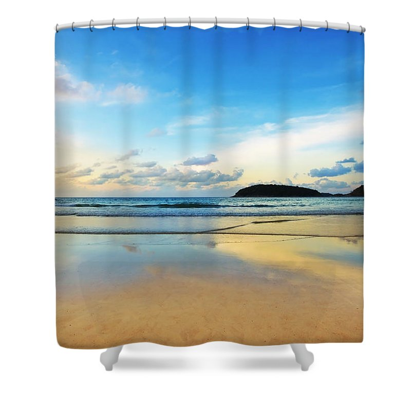 Tropical Nights Shower Curtains | Fine Art America