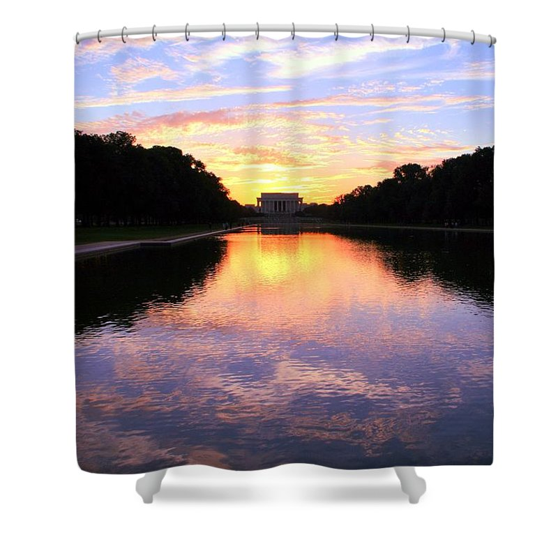 Washington D.c. Shower Curtain featuring the photograph Dream by Mitch Cat