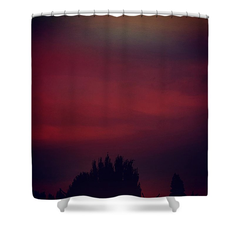 Nature Shower Curtain featuring the photograph Dream Sky by Charlie Dims