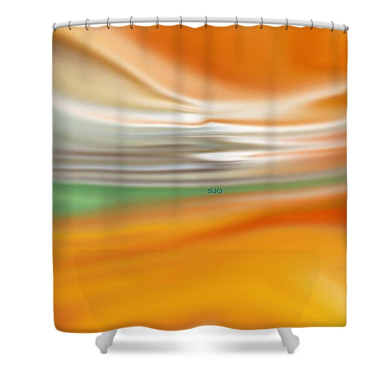 Dreams Shower Curtain featuring the digital art Dream State by Susan Oliver