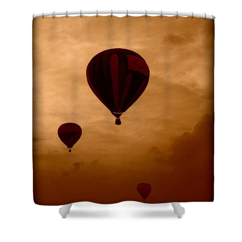 Dreaming Shower Curtain featuring the photograph Dreaming by Linda Sannuti