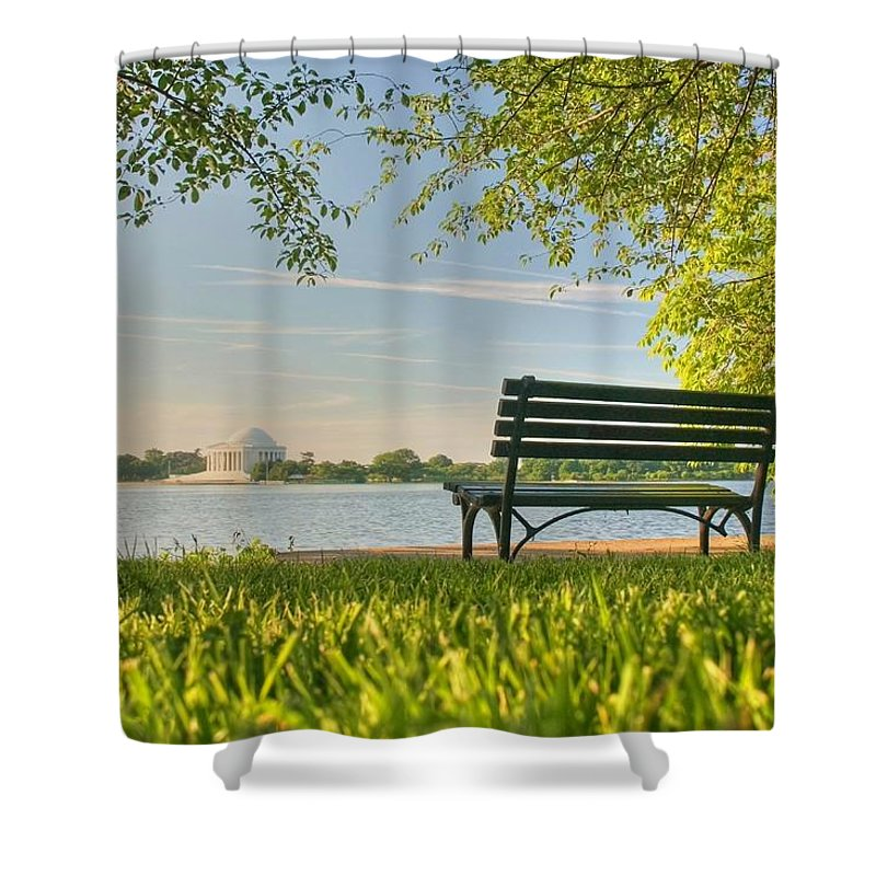 Landscape Shower Curtain featuring the photograph Dreams by Mitch Cat