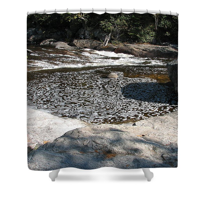 River Shower Curtain featuring the photograph Drifting Dreams by Kelly Mezzapelle
