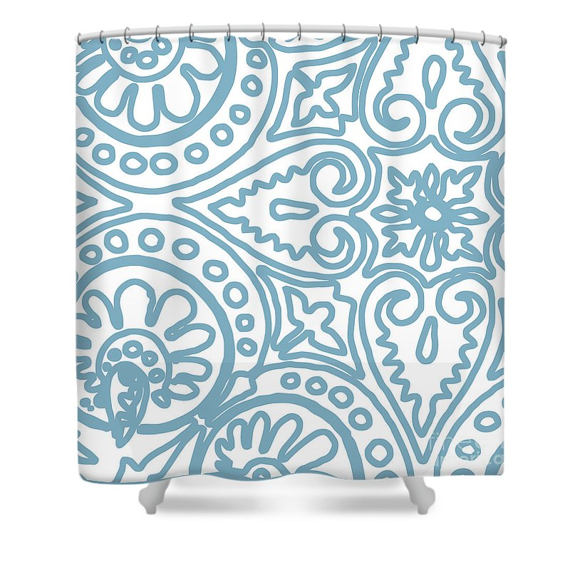 Whimsical Drawings Shower Curtains