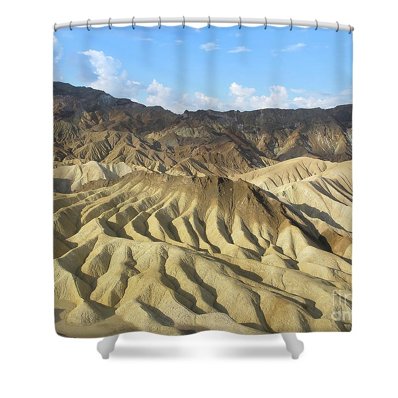 Dunes Shower Curtain featuring the photograph Dunes by Marc Stuelken