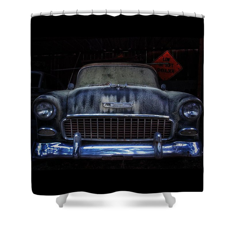 Vintage Shower Curtain featuring the photograph Dust and Memories by Stacy Sikes