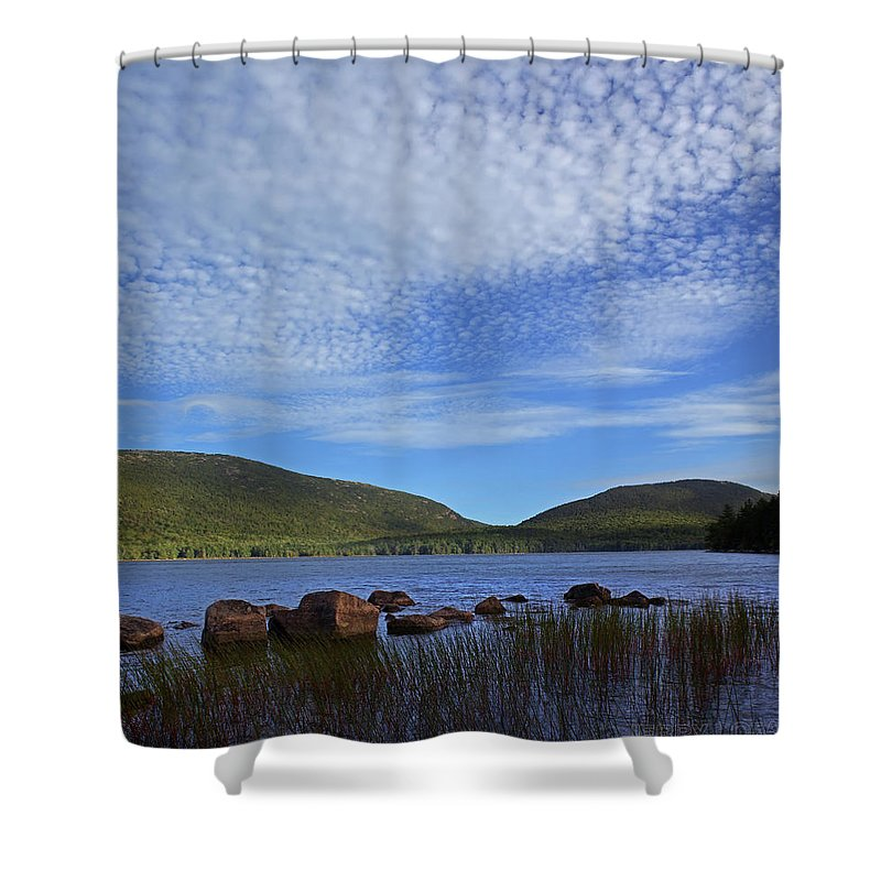 Lake Shower Curtain featuring the photograph Eagle Lake by Jerry LoFaro