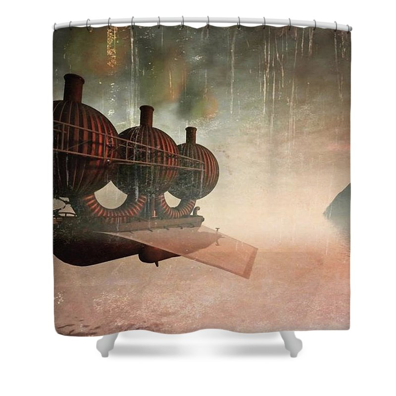 Steampunk Shower Curtains