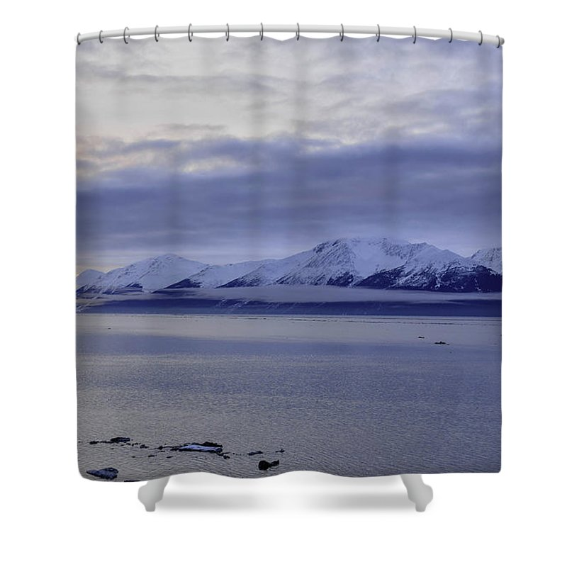 Clouds Shower Curtain featuring the photograph Early Morn by David Crewdson