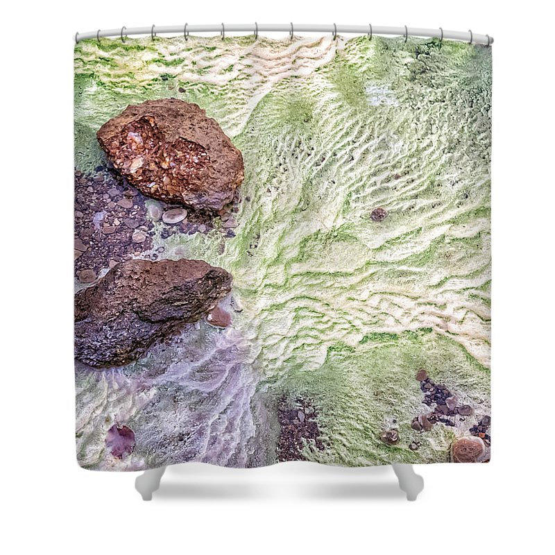 Iceland Shower Curtain featuring the photograph Earth Art 9489 by Karen Celella