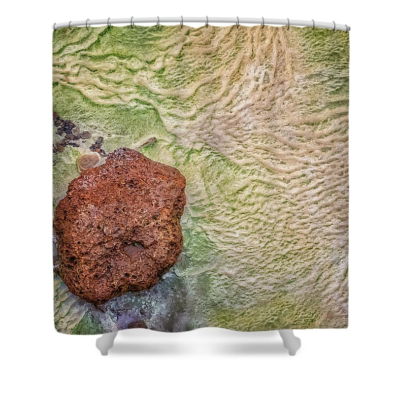 Iceland Shower Curtain featuring the photograph Earth Art 9491 by Karen Celella